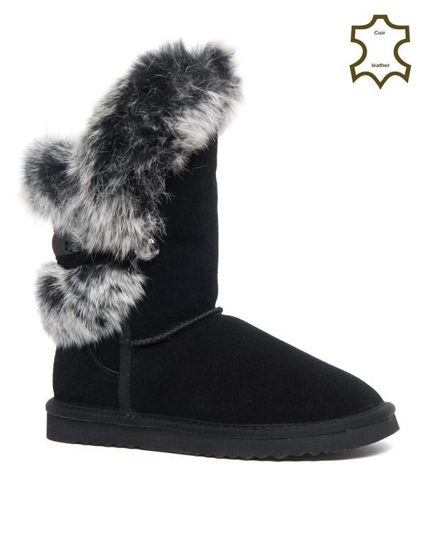 nouveau concept 8c5ad 06bcb stups bottes de neige - marron,bottes de neige pas cher ...